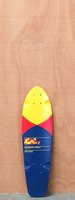 "GoldCoast 27"" Pier Shovel Red Longboard Deck"
