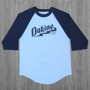 Dakine Brue Raglan Heather/Navy T-Shirt