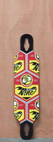 "Sector 9 37"" Seeker 37 Red Longboard Deck"