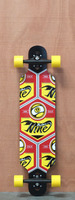 "Sector 9 37"" Seeker 37 Red Longboard Complete"