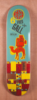 "Habitat Gall Pack Animal 8.5"" Skateboard Deck"