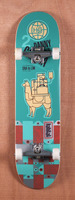 "Habitat Garcia Pack Animal 8.0"" Skateboard Complete"