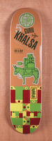 "Habitat Khalsa Pack Animal 8.0"" Skateboard Deck"