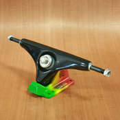 "Gullwing 9"" Charger Black on Rasta Trucks"