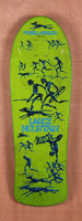 "Powell 30.5"" Bones Brigade Mountain Green Skateboard Deck"