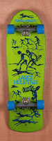 "Powell 30.5"" Bones Brigade Mountain Green Skateboard Complete"