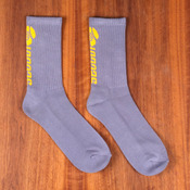 Sector 9 Grey Backside Logo Socks