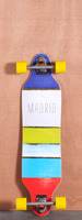 Madrid 36&quot; Paint Stripes Longboard Complete