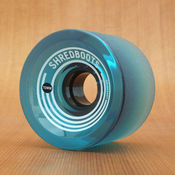 GoldCoast Shred Boot 70mm 85a Blue Wheels