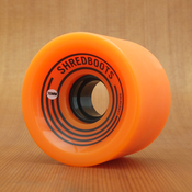GoldCoast Shred Boot 70mm 85a Orange Wheels
