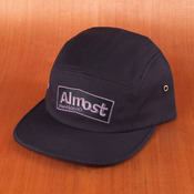 Almost 5 Panel Black Hat