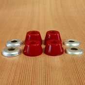 Paris Hard Red Bushings