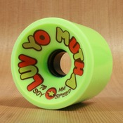 Dregs 70mm 78a GREEN Luv Yo Mutha Soy Wheels