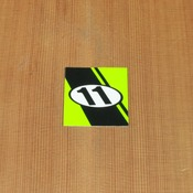 Abec11 Sticker Green Square