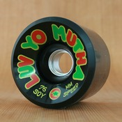 Dregs 76mm 81a Black METAL Mutha Soy Wheels