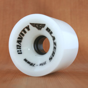 Gravity Blazers 70mm 77a Ice White Wheels
