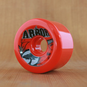 Arbor 65mm 78a Red Street Wheels