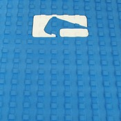 "Globe Blue 12"" x 10"" Tail Pad Grip"