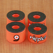 Orangatang Nipples Double Barrel Soft Orange Bushings