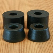 Randal 88a Soft Black Bushings