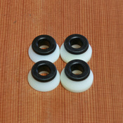 Bones Hard White/Black Bushings