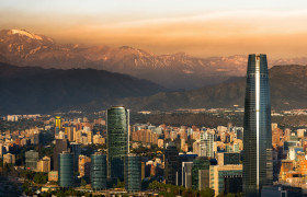 Santiago, Chile - Home of Start-Up Chile equity free accelerator.
