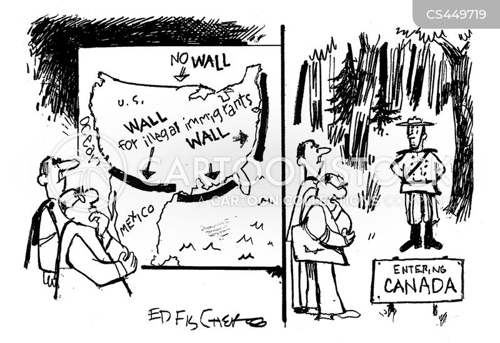 Mad Political Cartoon >> Mexican Border News and Political Cartoons