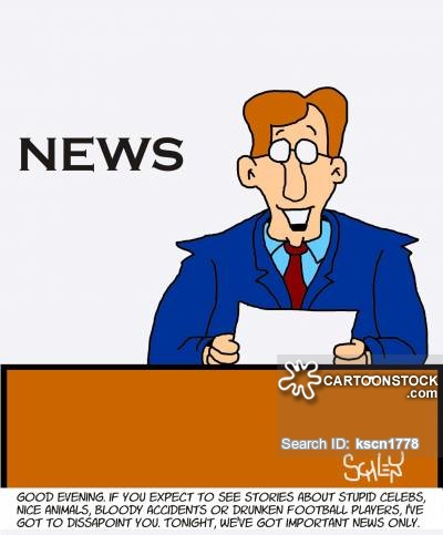 how to begin a news report