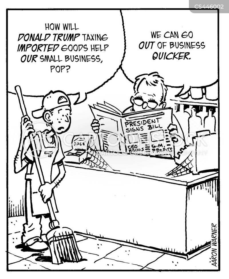 Small Business News And Political Cartoons