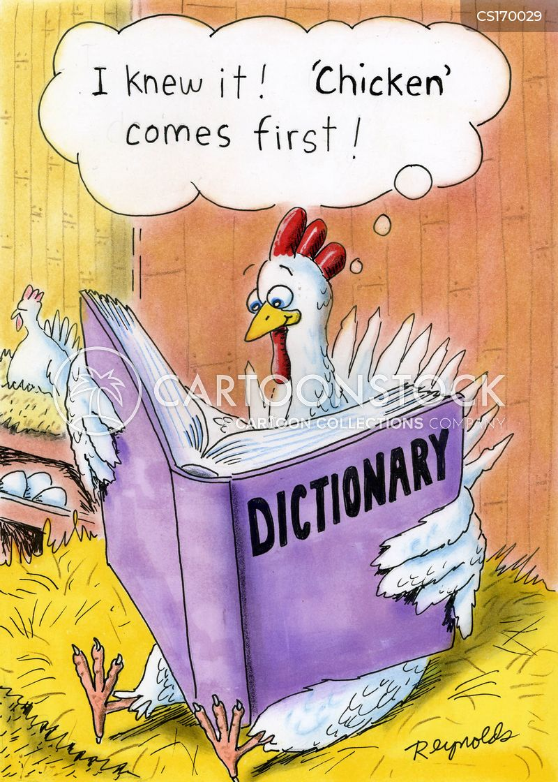 Chicken Or Egg Cartoons and Comics
