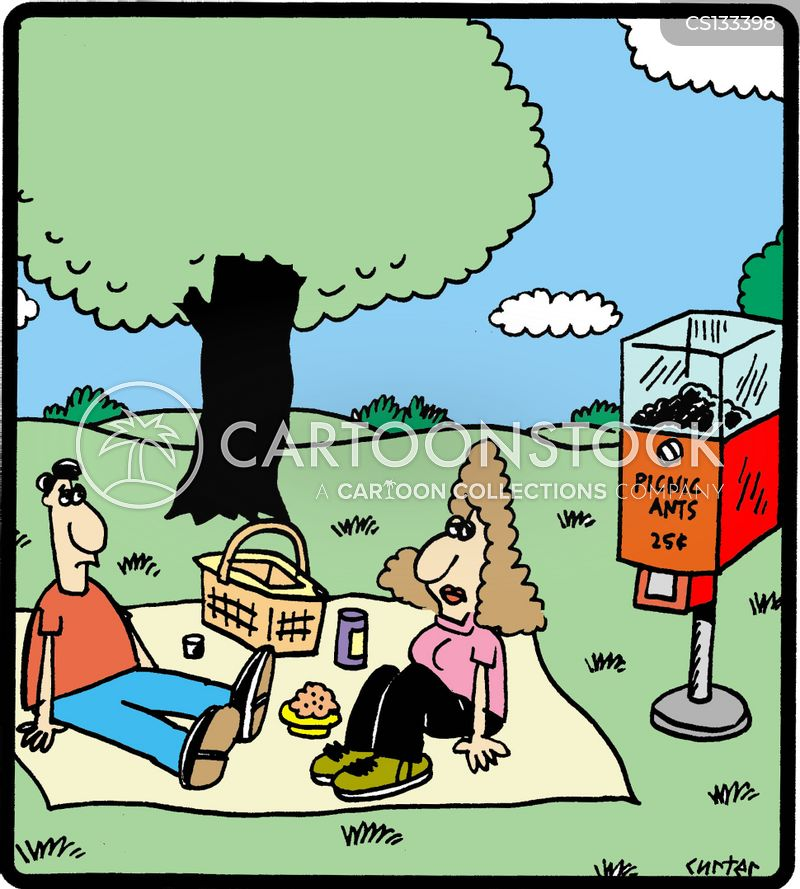 Picnic Food Cartoons And Comics Funny Pictures From