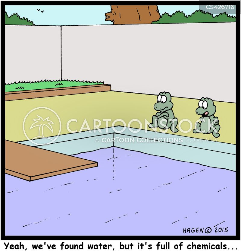 Chlorine Cartoons And Comics Funny Pictures From