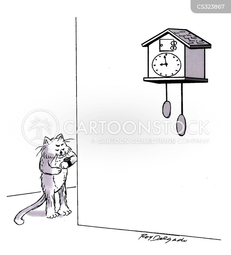 Coo Coo Clocks Cartoons And Comics Funny Pictures From Cartoonstock