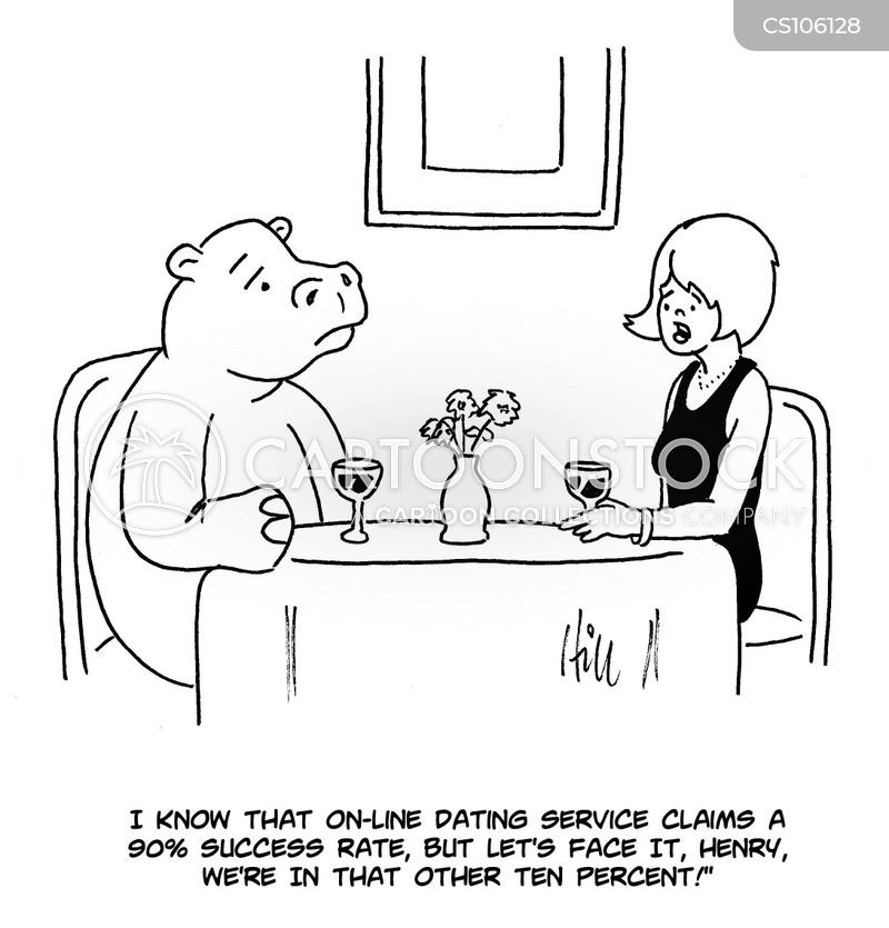 Online dating cartoon in Brisbane