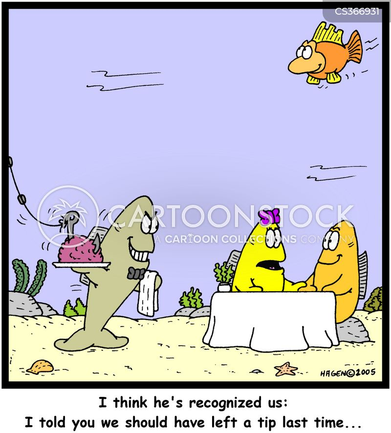 Poor service cartoons and comics funny pictures from for Fish customer service
