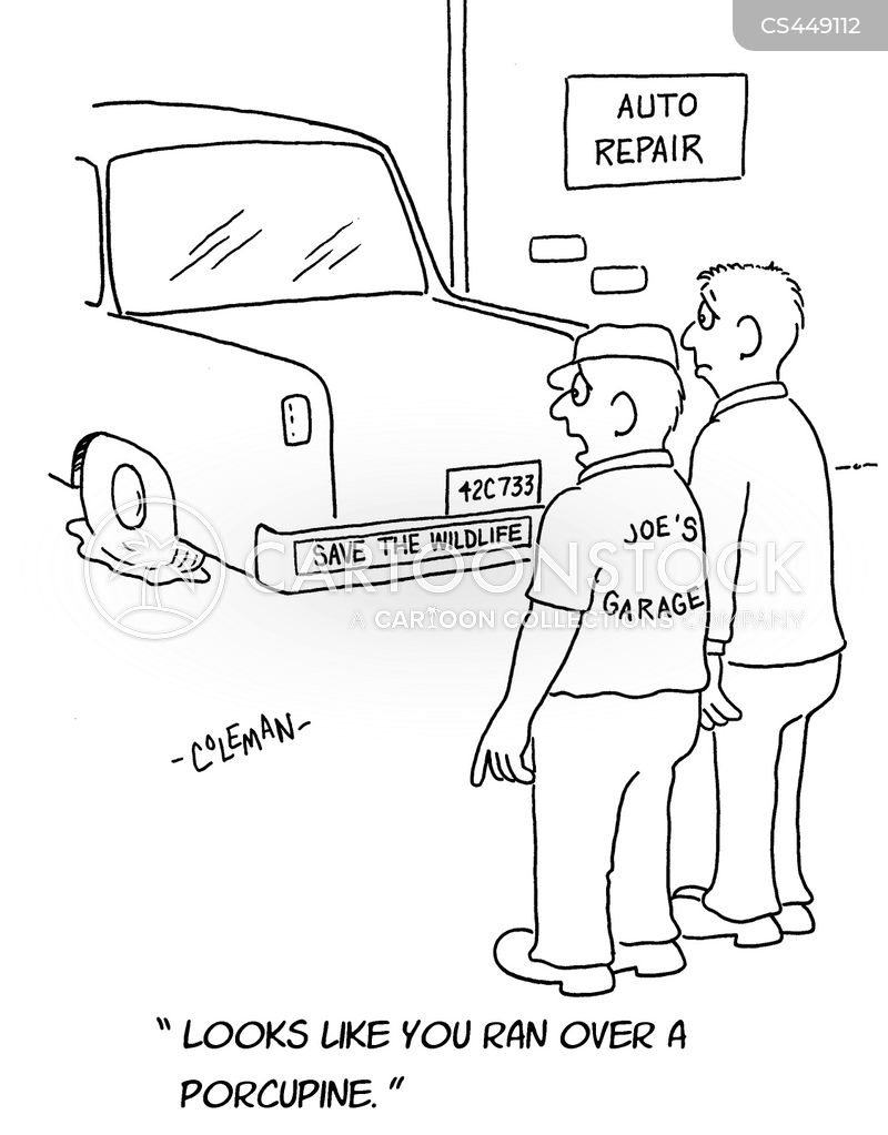 auto repairs cartoons and comics