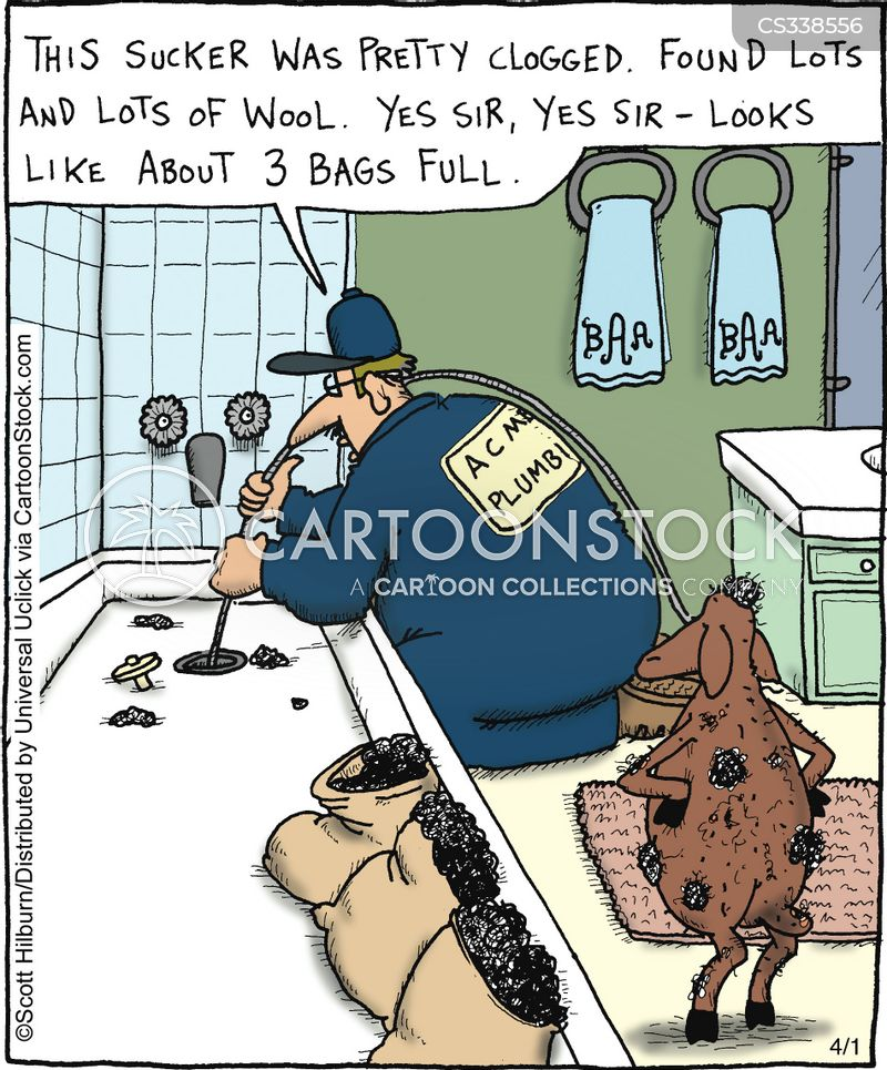 Clogged Cartoons And Comics Funny Pictures From Cartoonstock