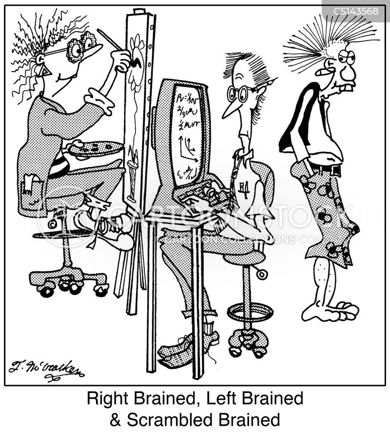 Left Brain Cartoons and Comics - funny pictures from ...