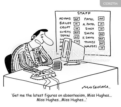 work related illness cartoons and comics