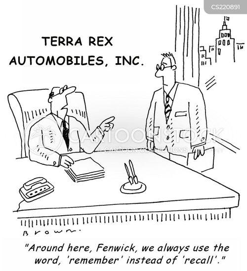 car business cartoons and comics