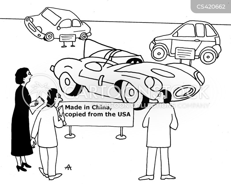 car factories cartoons and comics