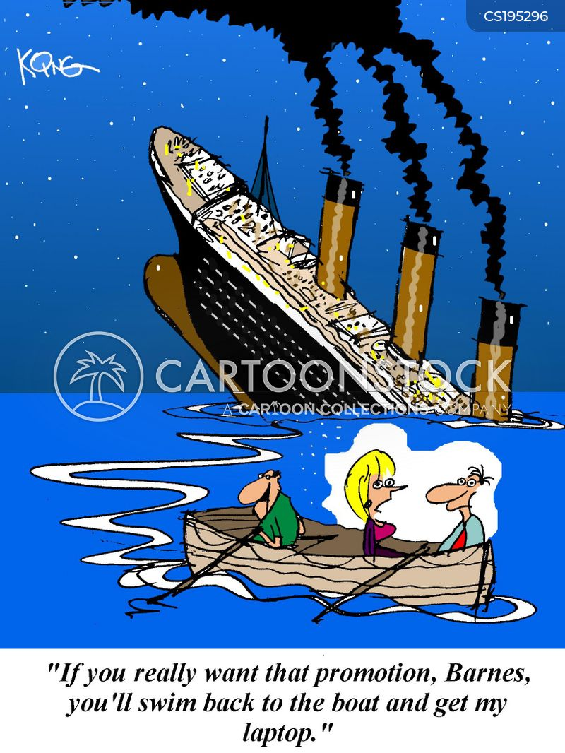 Sinking Boat Cartoons and Comics - funny pictures from ...