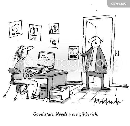 copywriter cartoons and comics