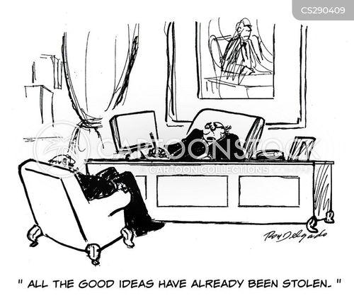 Stolen Ideas Cartoons and Comics