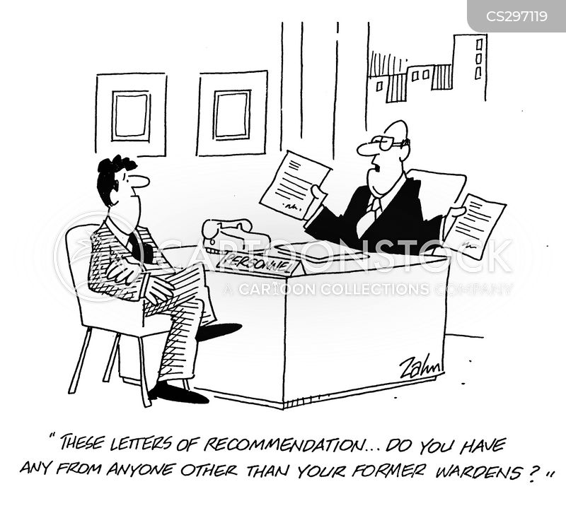 Letters Of Recommendation Cartoons And Comics Funny