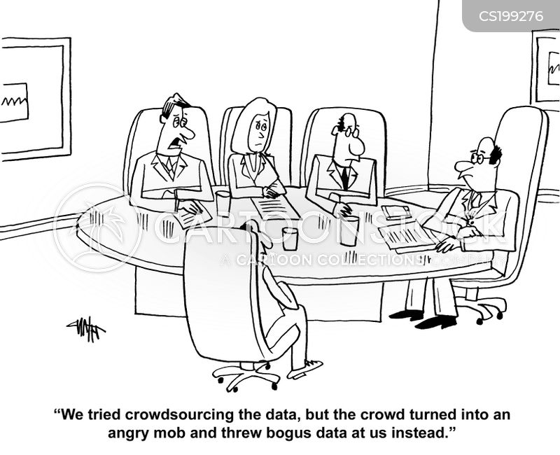 data mining cartoons