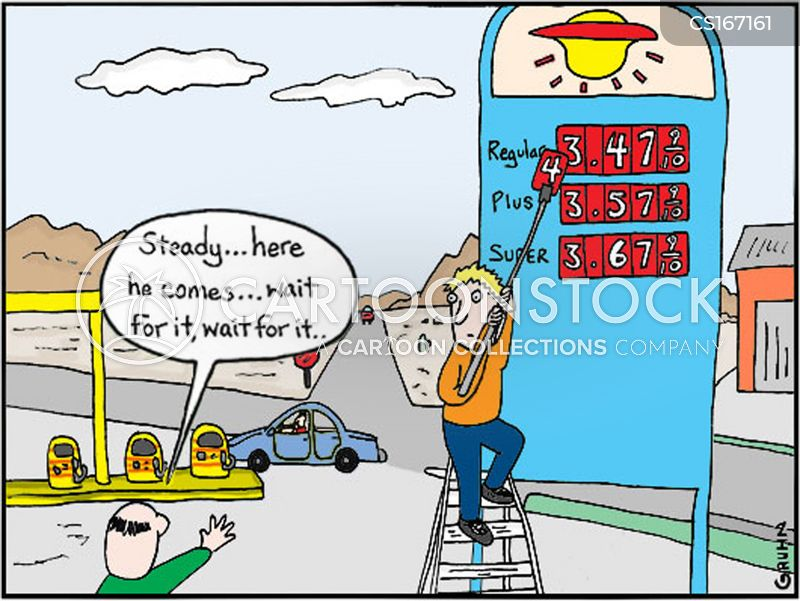 Low Gas Prices >> Cost Of Living Cartoons and Comics - funny pictures from CartoonStock