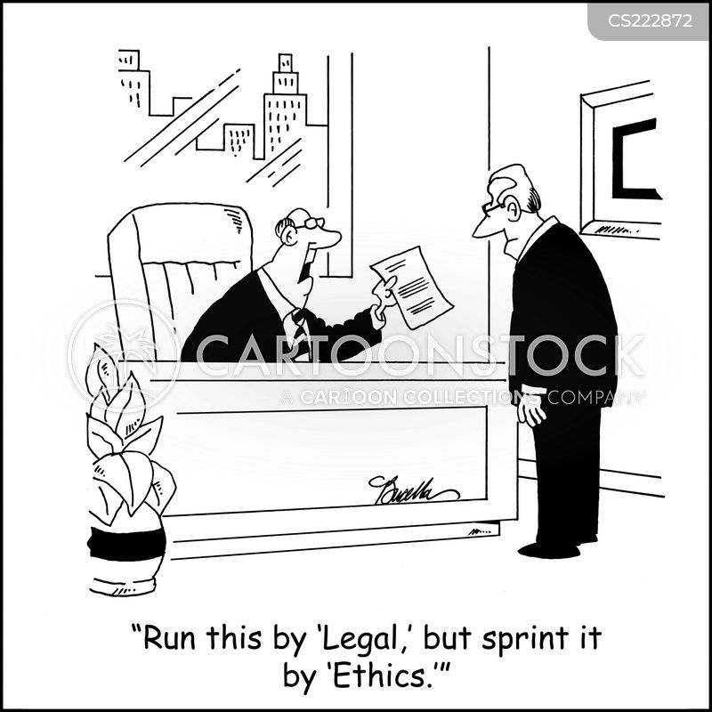 Ethics Panels Cartoons And Comics Funny Pictures From Cartoonstock