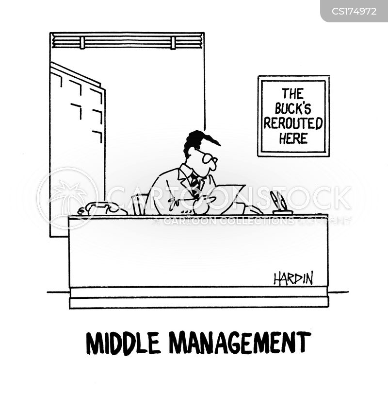 Middle Management Cartoons And Comics Funny Pictures