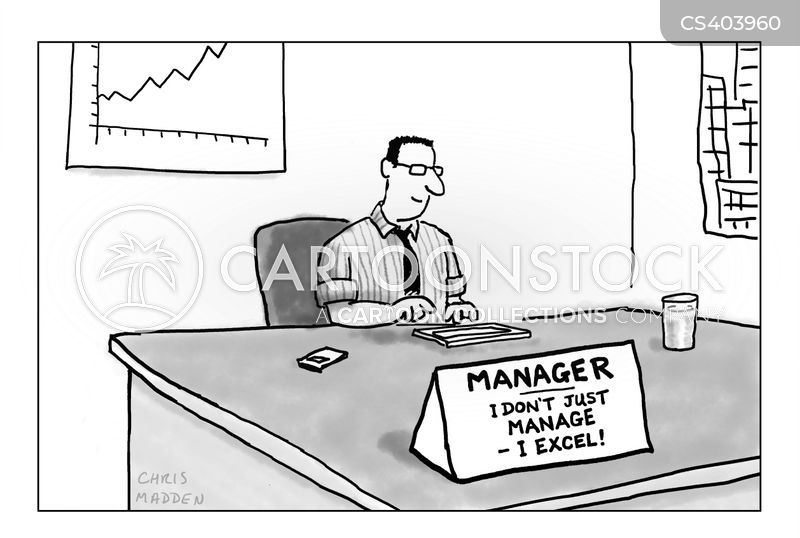 Excel Cartoons And Comics Funny Pictures From Cartoonstock